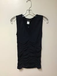 Women's BCBGMAXAZRIA sleeveless snug fitted stretch top Size-XS/S