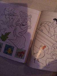 Disney Le livre de dessin de The Little Memaid