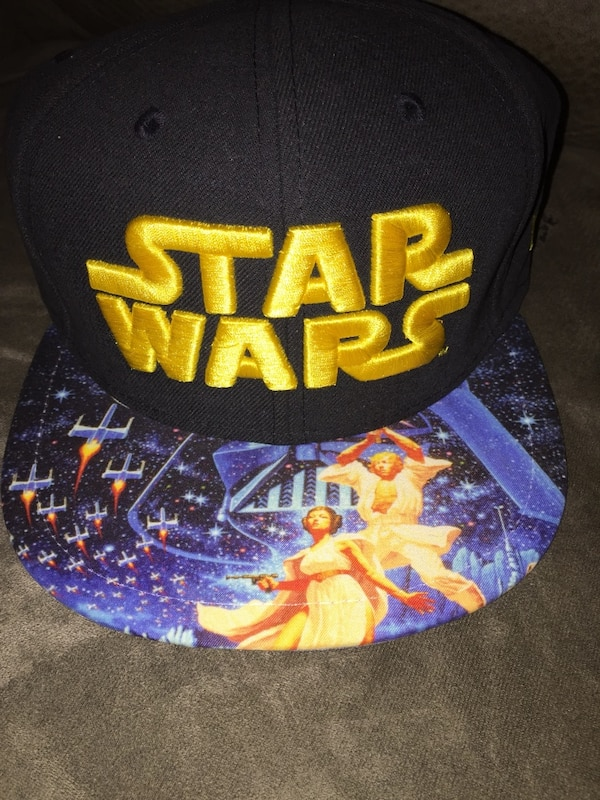 the best attitude 68cf6 e7a6c Brukt Limited edition star wars hat new era 59fifty fitted hat size 7 1 8  new til salgs i North Bay - letgo