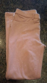 Pink soft skinny jeggings youth 14 Saint Marys, 45885