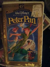Peter Pan 45th anniversary limited edition fully restored VHS
