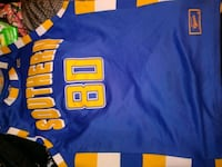 blue and yellow # 10 jersey San Antonio, 78227