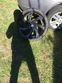 Nothing wrong just two flat tires. Size 20s