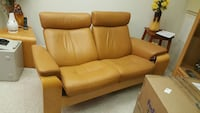 Leather Stressless Loveseat  Silver Spring, 20905