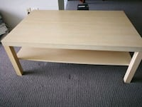 Ikea Malm coffee table - pick up before may 25 Toronto, M2R 3W5