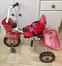 toddler's red and white trike Stafford, 22554