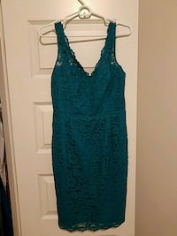 Lace dress from Davids Bridal, size 8 Madison, 35758