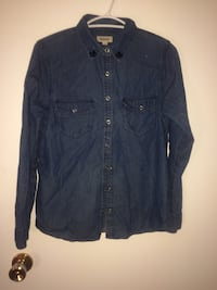 Denim snap shirt New Westminster, V3L 1E4