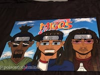 Painting: Naruto/ Migos mash up  College Park, 20740