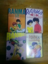 Ranma 1/2 dvd set.