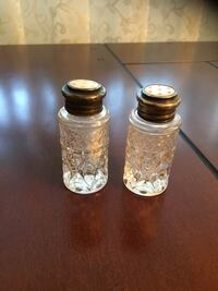Sterling silver and crystal salt and pepper  Toronto, M3M