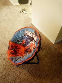 blue and orange Spider-Man moonchair Cheverly, 20785
