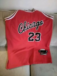 red and white Chicago Bulls jersey Spokane, 99207