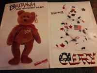 SET OF VERY RARE BEANIE BABY POSTERS Redford Charter Township