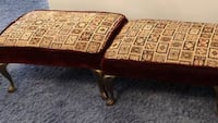 Pair of footstools vintage good condition Falls Church, 22042