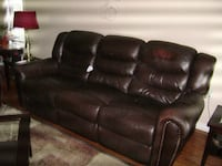 3 seat sofa genuine leather TORONTO