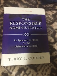 The Responsible Administrator book Vancouver