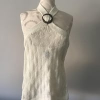 Knitted Front Cross Tank from Urban Behaviour - Size Extra Small M1B 5S3