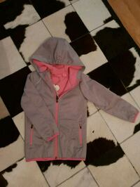 toddlers rosa och svart zip-up hoodie Gothenburg, 424 39