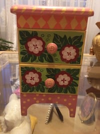 """Chest with two drawers for any 18"""" doll"""