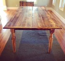 Custom Built Farm Table