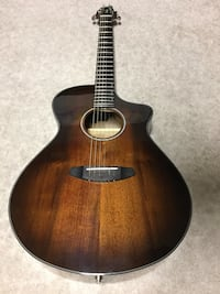 Brown and black acoustic guitar Mission Viejo, 92691