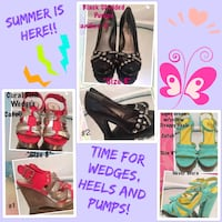Wedge's, Heels and Pumps Gastonia