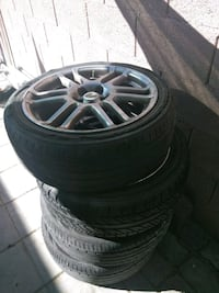 Scion tc 2008' 5-spoke vehicle wheel and tire set Las Vegas, 89110