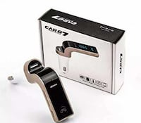 CarG7 fm transmitter and Bluetooth hand free call Surrey, V3W 0R5