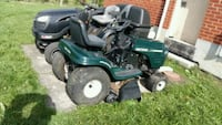 green and black ride-on mower Hillsdale