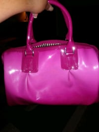 pink leather 2-way bag Westminster, 80021