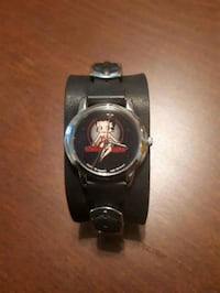 Betty boop watch with black leather strap Calgary, T2E 0M2