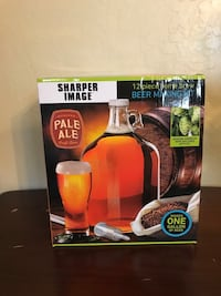 Sharper image 12 piece home brew beer making kit Sun City, 85373