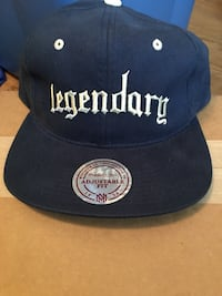 Mitchell and Ness Leather Strapback  Knoxville