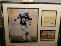 "Emmitt Smith ""Open Field""#2407  Norfolk, 23518"
