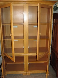 Two Seperate Display Cabinets - One Price  LOUISVILLE
