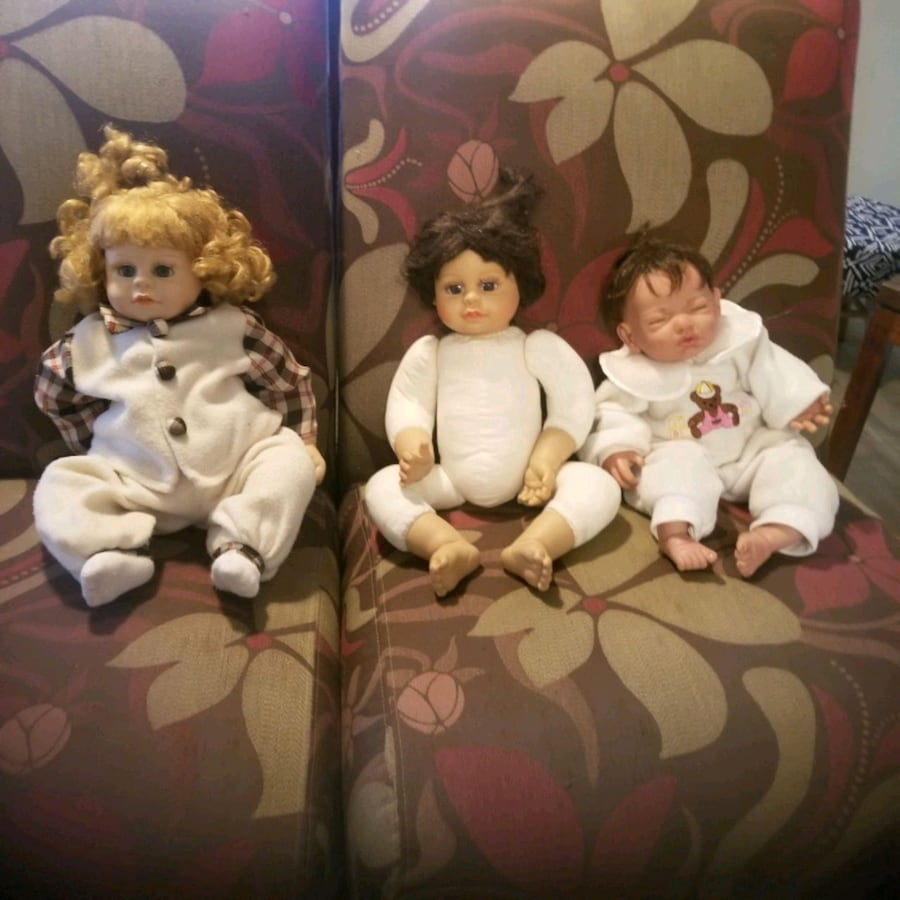 Baby dolls with clothing