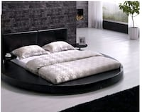 Queen size platform bed w/ end tables Newport News, 23607