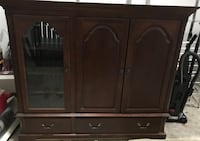 brown wooden cabinet with drawer Chantilly, 20151