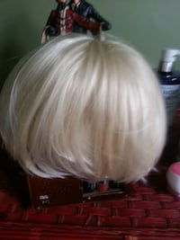 PLATINUM REAL HAIR WIG London