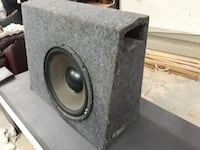"Subwoofer 12"" truck box Pauls Valley"