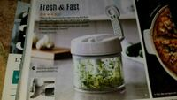 Pampered Chef Manual Food Processor Grimsby, L3M