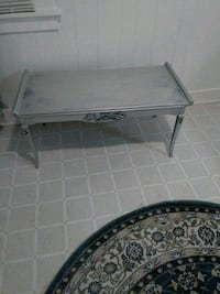 rectangular silver wooden coffee table 455 km