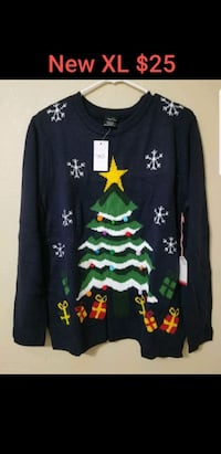 New Christmas sweater size XL  Las Vegas, 89120