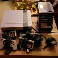 NES with 4 controllers and 10 games Cleves, 45002