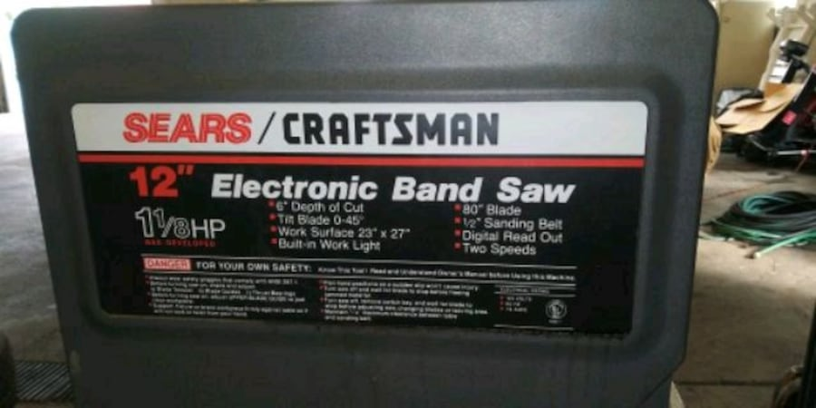 Craftsman band saw f90fb711-5d38-409b-b716-9963ad4ced63