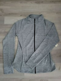 Brand new zip up grey yoga long sleeve Edmonton, T5K 1T9
