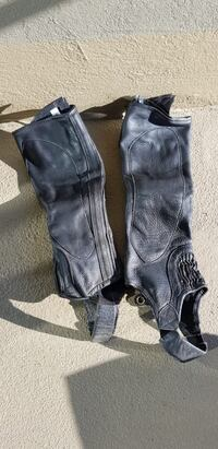 Leather Gaiters for horse riding