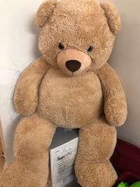 60 inches Jumbo Teddy Bear plush size over 5 ft (150 cm )moving sale.. Toronto, M9V 3T2