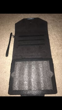 black and gray leather bag Bakersfield, 93312